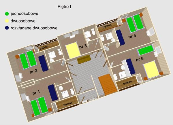 Jawor Krynica - I piętro